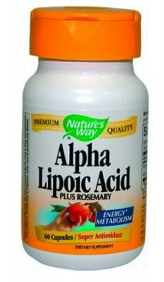 Alpha lipoic acid 360 mg 60 capsules Nature's Way / Алфа липоева киселина 360 мг. 60 капсули Nature's Way