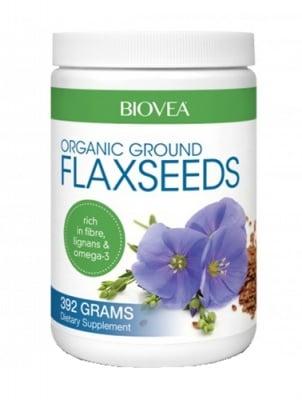 Biovea Flaxseeds organic 392 g / Биовеа Ленени семена органик 392 гр.