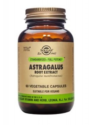 Astragalus root extract 60 capsules Solgar / Астрагалус 60 капсули Солгар