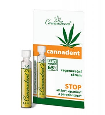 Cannaderm Cannadent serum for aphthaes and herpes 10 doses 1.5 ml / Канадерм Канадент серум за афти и херпеси 10 дози по 1,5 мл.