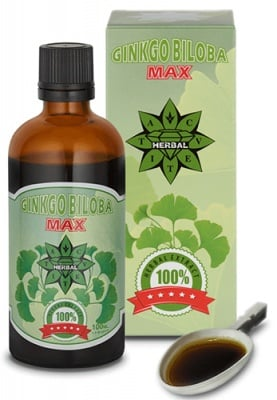 Ginkgo Biloba MAX extract 100 ml. Cvetita / Гинко Билоба МАКС екстракт 100 мл. Цветита