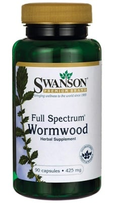 Swanson Full spectrum wormwood 425 mg 90 capsules / Суонсън Пелин фул спектрум 425 мг. 90 капсули