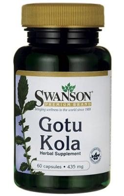 Swanson Gotu kola 435 mg 60 capsules / Суонсън Готу кола 435 мг. 60 капсули