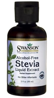 Swanson Stevia liquid extract alcohol free 59 ml. / Суонсън Стевия течна без алкохол 59 мл.