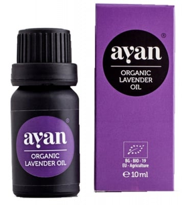 Ayan Organic lavender oil 10 ml. / Аян Лавандулаво масло органик 10 мл.