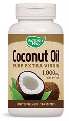 Coconut oil organic 1000 mg 120 capsules Nature's Way / Кокосово масло органик 1000 мг. 120 капсули Nature's Way
