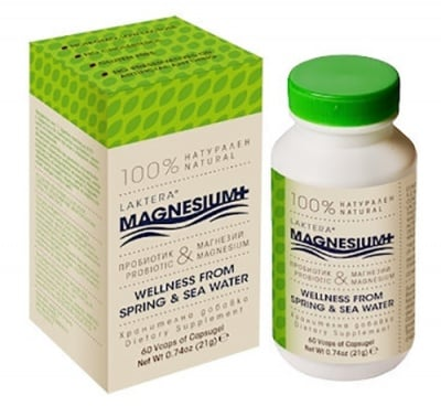 Laktera+ Magnesium 60 capsules / Лактера+ Магнезий 60 капсули
