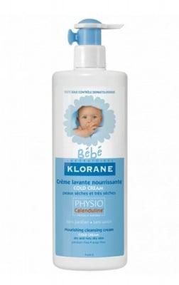Klorane baby nourishing cream with cold cream 500 ml / Клоран бебе измиващ и подхранващ крем- гел с колд крем 500 мл