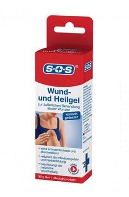 S.O.S. wоund and burning gel 30 g / С.О.С. гел за рани и изгаряния 30 гр.