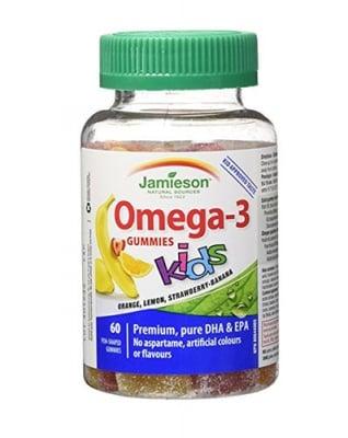 Jamieson omega-3 kids 60 gummies / Джеймисън омега - 3 за деца 60 желирани дражета