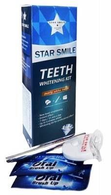 Star smile teeth whitening kit / Стар смайл комплект за избелване на зъби