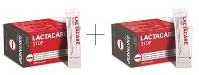 Lactacare stop 1000 mg 6 saches set 2 pcs / Лактакеър стоп 1000 мг 6 сашета комплект  2 бр.