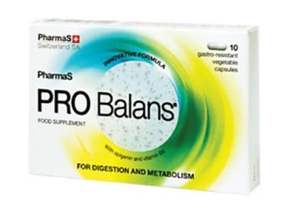 Probalans 10 capsules / Пробаланс 10 капсули