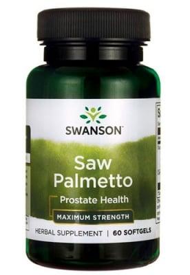 Swanson Saw palmetto 320 mg 60 capsules / Суонсън Сау палмето 320 мг. 60 капсули