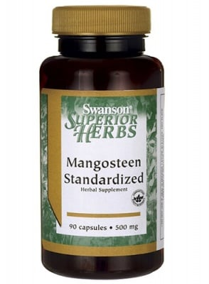 Swanson Mangosteen 500 mg 90 capsules / Суонсън Мангостин 500 мг. 90 капсули