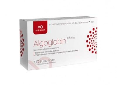 Algoglobin 335 mg 30 capsules Alphyca / Алгоглобин 335 мг 30 капсули Alphyca