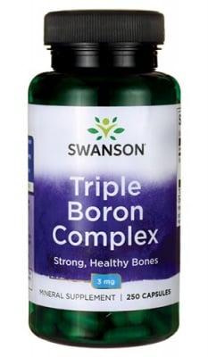 Swanson triple boron complex 3 mg 250 capsules / Суонсън Бор троен комплекс 3 мг. 250 капсули
