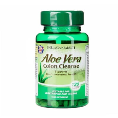 Aloe Vera colon cleanse 120 tablets Holland & Barrett / Алое Вера колон клийн 120 таблетки Holland & Barrett
