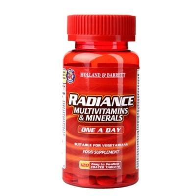 Radiance Multivitamins & Minerals 120 tablets Holland & Barrett / Радианс Мултивитамини и Минерали 120 таблетки Holland & Barrett