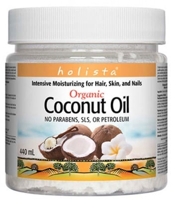 Coconut oil organic 440 ml Natural Factors / Кокосово масло Органик 440 мл. Натурал Факторс