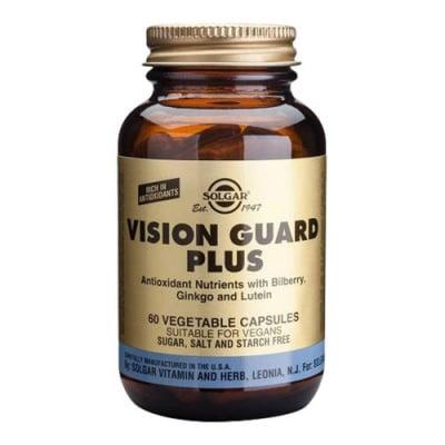 Vision Guard Plus 60 vegetable capsules Solgar / Вижън Гард Плюс 60 растителни капсули Солгар