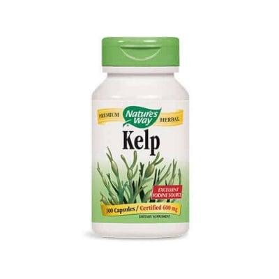 Kelp 660 мг 100 capsules Nature's Way / Келп кафяви водорасли 660 mg 100 капсули Nature's Way