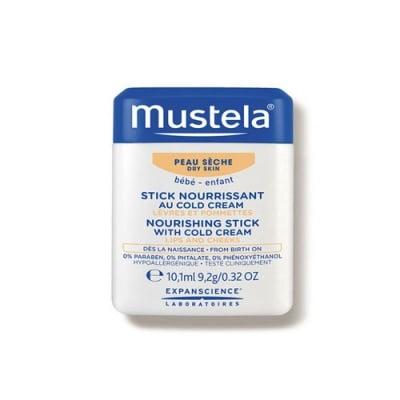 Mustela Hydra Nourishing stick with cold cream 9,2 g / Мустела Подхранващ стик с колд крем за устни и бузки 9,2 г.