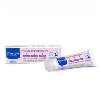 Mustela Bebe Vitamin barrier cream 1-2-3 50 ml / Мустела Бебе Витаминен защитен крем против подсичане 50 мл.