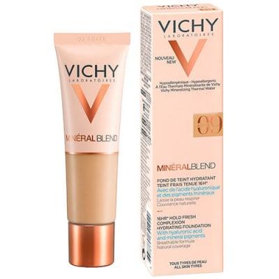 Vichy Mineralblend complexion hydrating foundation  09 Agate 30 ml / Виши Минералбленд фон дьо тен  09 Agate 30 мл