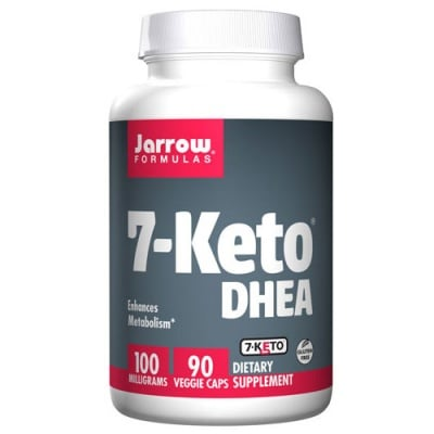 Jarrow Formulas 7-Keto DHEA 100 mg 90 capsules / Джароу Формулас 7-оксо Дехидроепиандростерон 100 мг. 90 капсули