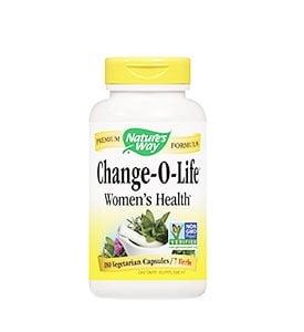 Change - o - lIFE 440 mg. 100 capsules Nature's Way  / Чейндж -О - Лайф 440 мг. 100 капсули Nature's Way