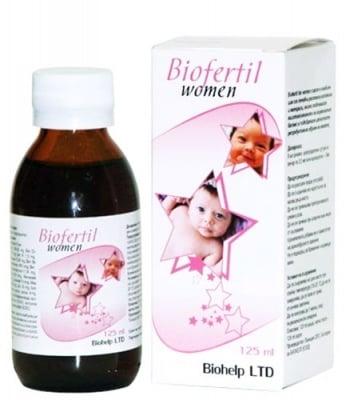 Biofertil women syrup 125 ml. / Биофертил за жени сироп 125 мл.