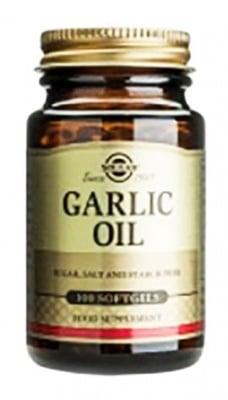 Garlic powder 500 mg. 90 capsules Solgar / Чесън 500 мг. 90 капсули Солгар