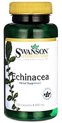 Swanson Echinacea 400 mg. 100 capsules / Суонсън Ехинацея 400 мг. 100 броя капсули