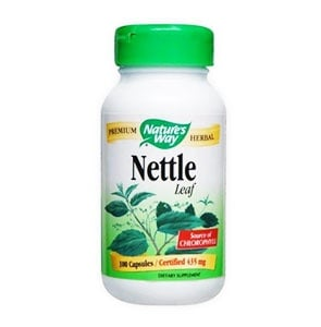 Nettle 435 mg. 100 capsules Nature's Way / Коприва 435 мг. 100 капсули Nature's Way