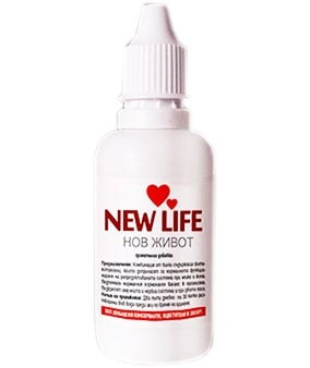New Life drops 100 ml. / Ню Лайф капки  100 мл.