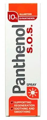 Pantenol 10% S.O.S spray with Allantoin and Aloe Vera 130 ml. / Пантенол 10% S.O.S спрей с Алаинтоин и Алое Вера 130 мл.