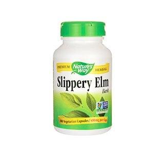 Slipperry Elm bark 400 mg. 100 capsules Nature's Way / Червен Бряст кора 400 мг. 100 капсули Nature's Way