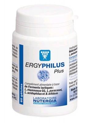 Ergyphilus plus 60 capsules Nutergia / Ержифилус плюс 60 капсули