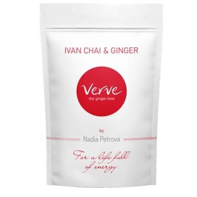 Teа Verve Ginger with Mursala Tea 100 g / Чай Върв Джинджифил с Мурсалски чай 100 гр.