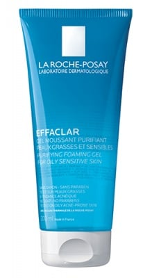 La Roche Effaclar Purifying foaming gel cleanser for oily sensitive skin 200 ml. / Ла Рош Ефаклар Почистващ гел срещу акне 200 мл.