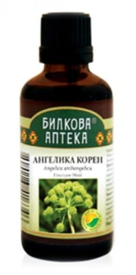 Angelika archangelica tincture 50 ml. Herbal Pharmacy / Тинктура Ангелика корен 50 мл. Билкова Аптека