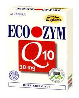 Eco - Zym Q10 30 capsules / Еко - Зим Q10 30 броя капсули