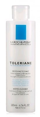 La Roche Toleriane Dermo - Cleanser and Make - Up Removal Fluid Face and Eye All Types of intoletant skin 200 ml. / Ла Рош Позе Толериан Дермо почистващ флуид 200 мл.