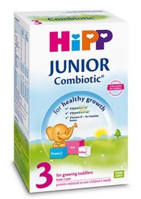 Hipp Junior combiotic 3 500 g. / Хип Адаптирано мляко комбиотик 3 500 гр.