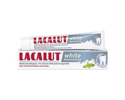 Lacalut white alpenminze toothpaste 75 ml. / Паста за зъби Лакалут white alpenmizme 75 мл.