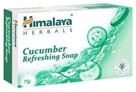 Himalaya Herbals refreshing Cucumber soap 75 g. / Хималая Освежаващ сапун с Краставица 75 гр.