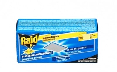 Raid against mosquitoes 30 tablets / Райд ламинирани таблетки 30 броя