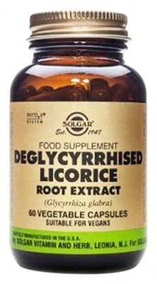 Solgar Deglycyrrhised licorice root extract 60 capsules / Солгар Женско биле екстракт 60 капсули