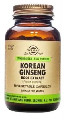 Solgar Korean Ginseng root extract 60 capsules / Солгар Корейски Жен Шен екстракт 60 капсули